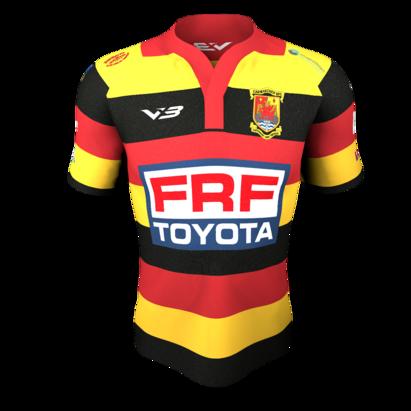 VX3 Carmarthen Quins RFC Kids Replica Rugby Jersey