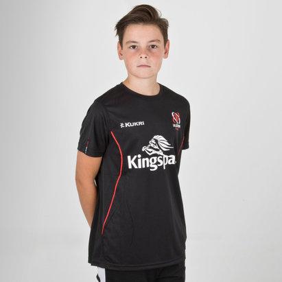 Kukri Ulster 2018/19 - Tshirt de Rugby Entraînement Performance Adolescents