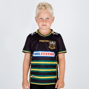 Macron Northampton Saints 2018/19 - Maillot de Rugby Réplique Domicile Enfants