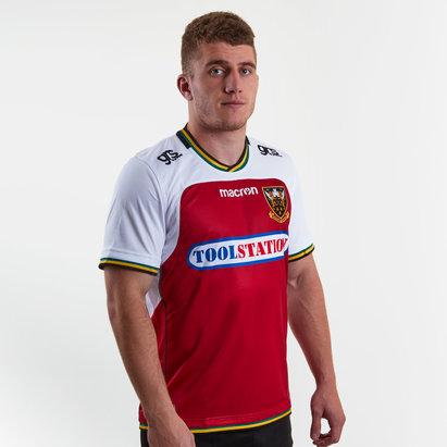 Macron Northampton Saints 2018/19 - Maillot de Rugby Réplique Alterné