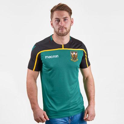 Macron Northampton Saints 2018/19 - Tshirt de Rugby Entraînement Joueurs
