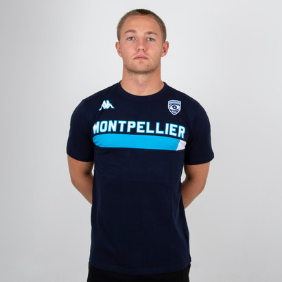 Kappa Montpellier 2018/19 - Tshirt de Rugby Ambra