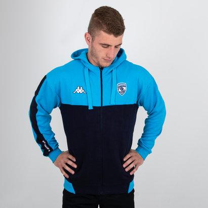 Kappa Montpellier 2018/19 - Veste de Rugby à Capuche