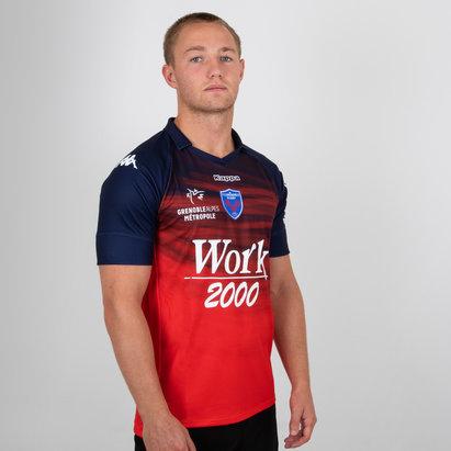 Kappa FC Grenoble 2018/19 - Maillot de Rugby Réplique Alterné