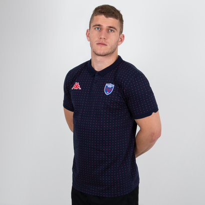Kappa FC Grenoble 2018/19 - Polo de Rugby Bianca