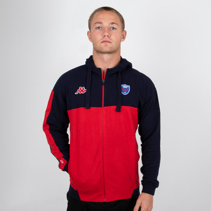 Kappa FC Grenoble 2018/19 - Veste de Rugby à Capuche Franca