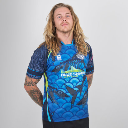 World Beach Rugby Bali Sharks 2018/19 - Maillot de Rugby Domicile