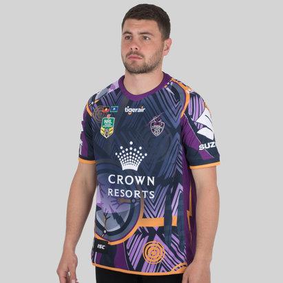 ISC Melbourne Storm NRL 2018 - Maillot de Rugby Indigenous