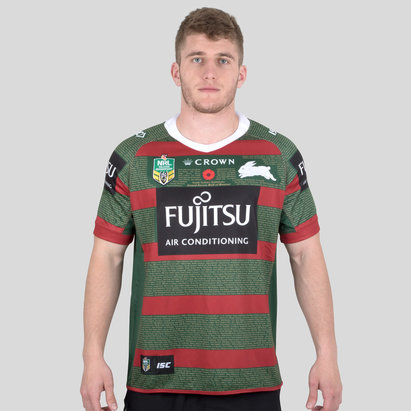 ISC South Sydney Rabbitohs NRL 2018 - Maillot de Rugby Anzac