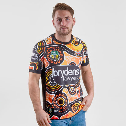 ISC Wests Tigers NRL 2018 - Maillot de Rugby Indigenous