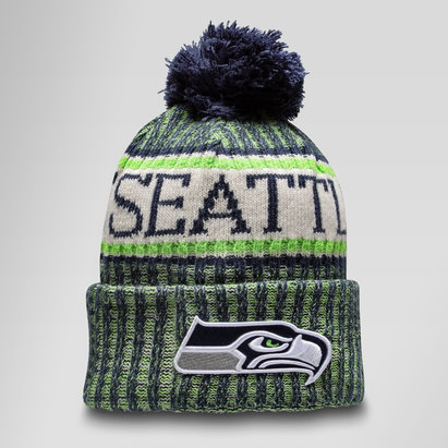New Era Seattle Seahawks NFL Sideline - Bonnet à Pompon