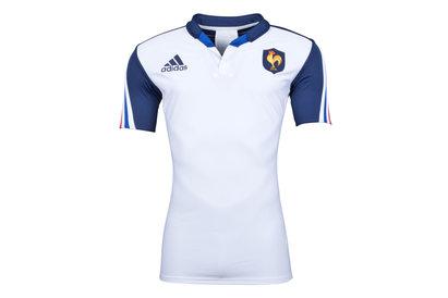 adidas France 2013/14 - Maillot de Rugby Authentique Joueurs Alterné