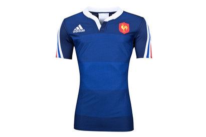adidas France 2013/14 - Maillot de Rugby Authentique Joueurs Domicile