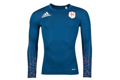 adidas France - Tshirt Entraînement de Rugby M/L