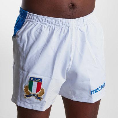Macron Italie 2018/19 - Shorts de Rugby Joueurs Domicile