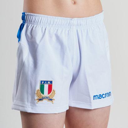 Macron Italie 2018/19 - Short de Rugby Domicile Enfants