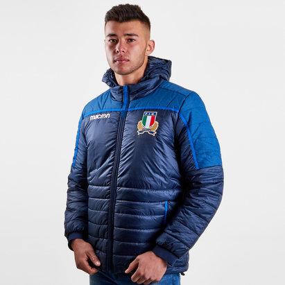 Macron Italie 2018/19 - Veste de Rugby Loisirs Joueurs