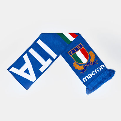 Macron Italie 2018/19 - Echarpe de Rugby Supporter