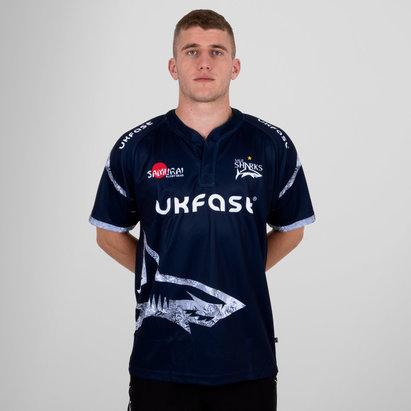 Samurai Sale Sharks 2018/19 - Maillot de Rugby Réplique Domicile