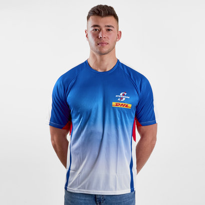 Genuine Connection Promotions Stormers 2018 - Tshirt de Super Rugby Echauffement Joueurs