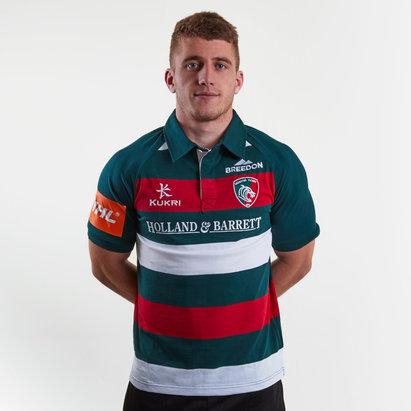 Kukri Leicester Tigers 2018/19 - Maillot de Rugby Classique Domicile