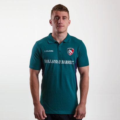 Kukri Leicester Tigers 2018/19 - Polo de Rugby Match Day Joueurs
