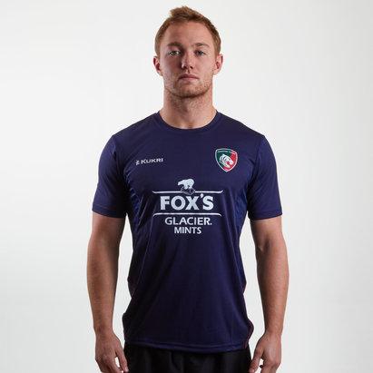 Kukri Leicester Tigers 2018/19 - T-shirt de Rugby Tech Entraînement Joueurs