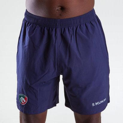 Kukri Leicester Tigers 2018/19 - Short de Rugby Tissé Gym Joueurs