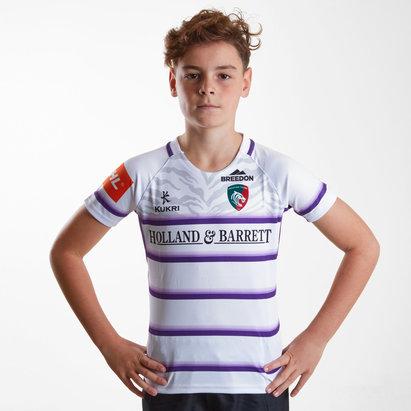 Kukri Leicester Tigers 2018/19 - Maillot de Rugby Réplique Alterné Enfants