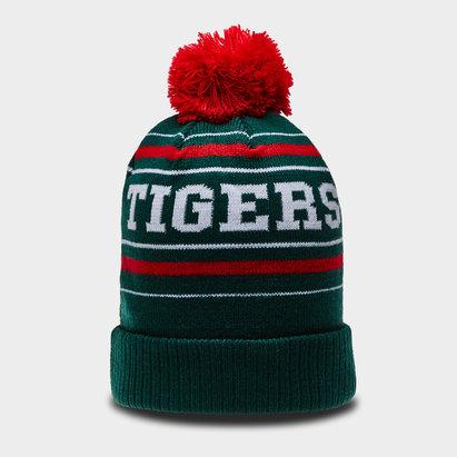 Kukri Leicester Tigers 2018/19 - Bonnet de Rugby à Pompons