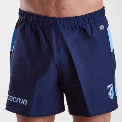 Macron Cardiff Blues 2018/19 - Short de Rugby Domicile