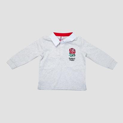England Rugby Angleterre 2018/19 - Maillot de Rugby Classique M/L Jeunes Enfants