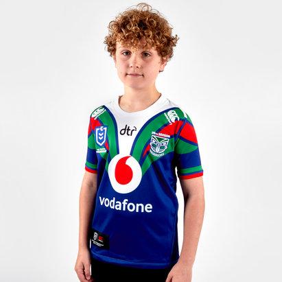 Canterbury Nlle Zélande Warriors NRL 2019 - Maillot de Rugby Domicile Enfants