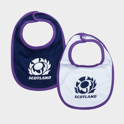 Scotland RFU Écosse RFU 2018/19 - Paquet de 2 Bavoirs Bébés