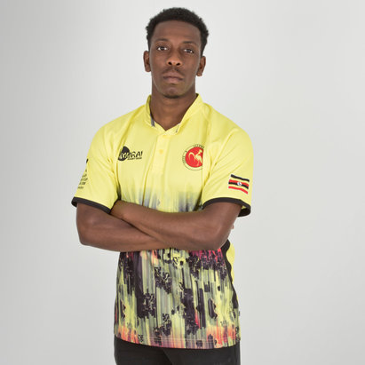 Samurai Uganda 7s 2018 RWC - Maillot de Rugby Réplique Domicile