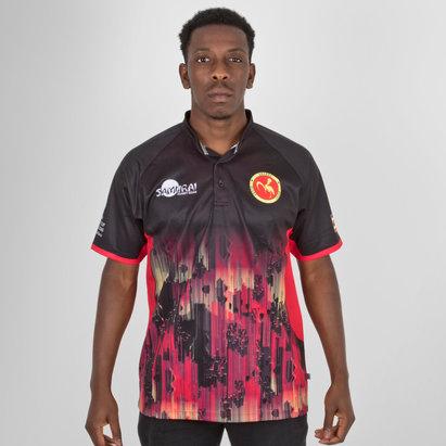 Samurai Uganda 7s 2018 RWC - Maillot de Rugby Réplique Alterné