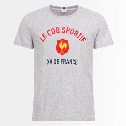Le Coq Sportif France 2018/19 - Tshirt de Rugby Adolescant