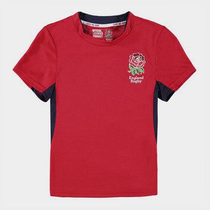 Angleterre Rugby RFU - Tshirt Poly Enfants