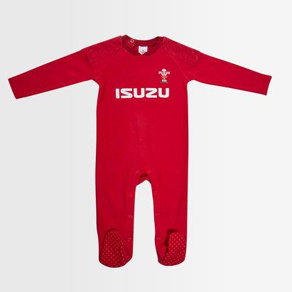 Wales Rugby Pays de Galles WRU 2018/19 - Pyjama de Rugby Bébé