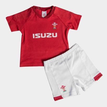 Wales Rugby Pays de Galles WRU 2018/19 - Kit Tshirt & Short Enfants