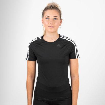 adidas D2M 3 bandes - T-shirt Entraînement Femmes