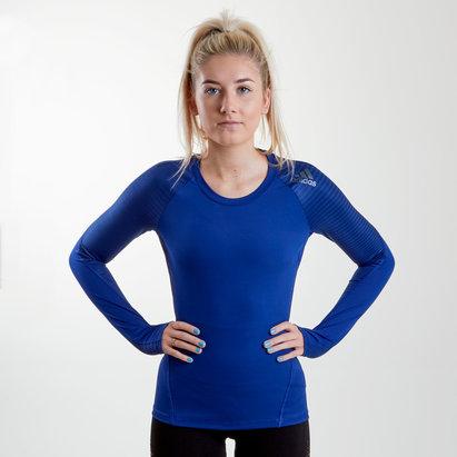 adidas Alphaskin Sport - T-shirt M/L Femmes