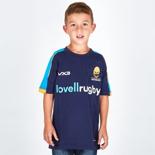 VX-3 Worcester Warriors 2018/19 - Tshirt de Rugby Pro Enfants