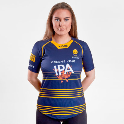 VX-3 Worcester Warriors 2018/19 - Maillot de Rugby Réplique Domicile Femmes