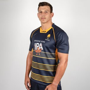 VX3 Worcester Warriors 2018/19 - Maillot de Rugby Réplique Domicile