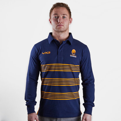 VX3 Worcester Warriors 2018/19 - Maillot de Rugby Cotton M/L