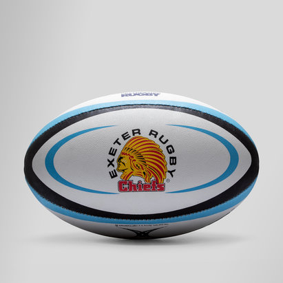 Gilbert Exeter Chiefs - Ballon de Rugby Réplique Officiel