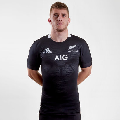 adidas Nlle Zélande All Blacks 2018/19 - Maillot de Rugby Test Domicile
