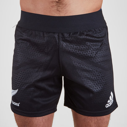 adidas Nlle Zélande All Blacks 2018/19 - Shorts de Rugby Domicile