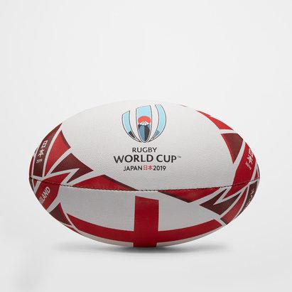 Gilbert Angleterre RWC 2019 - Ballon de Rugby Réplique Officielle